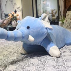 2018新款乳胶动物枕  60*40*5 小象