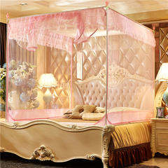 蚊帐(缤纷花语) 1.2*2米 粉色