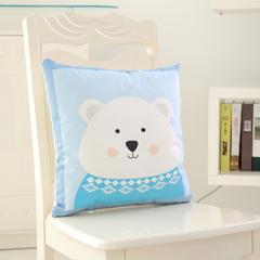 韩国绒抱枕 45x45cm(单套) 呆萌熊