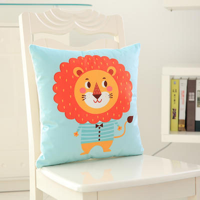 韩国绒抱枕 40x40cm(套+芯) 狮子王