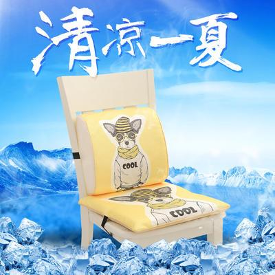 冰丝腰靠坐垫 坐垫 40*40cm Cool-狗