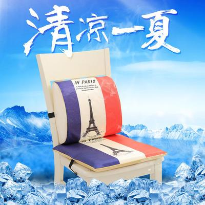 冰丝腰靠坐垫 腰靠 32*30*10cm 铁塔