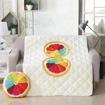 2018新款抱枕被水果系列