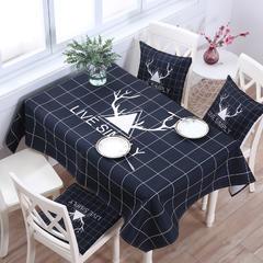 2018第一款桌布 140*180cm 北欧印象(黑)