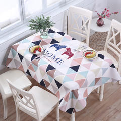 2018第一款桌布 140*180cm 幸福家园