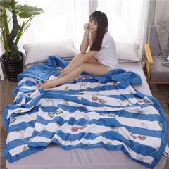 HXSD-201 全棉棉花夏被 1.5*2米单人床 悠长假期