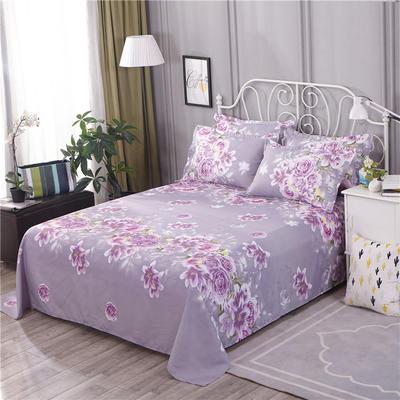 2018新款床单单件HXSD-806 160cmx230cm 爱的花海