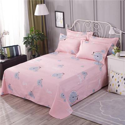 2018新款床单单件HXSD-806 160cmx230cm 阳光甜橙