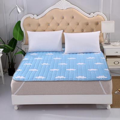 2018新款HXSD-1271 亲肤床褥床垫子床垫床褥子席梦思保护套 90*200cm 云朵飘飘