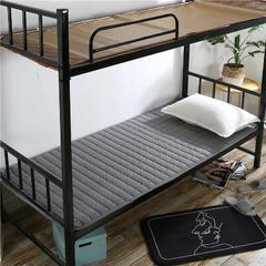 2018新款HXSD-1271 亲肤床褥床垫子(学生床拍) 120*200cm 灰色
