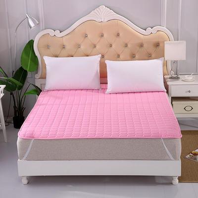 2019新款HXSD-1271 亲肤床褥床垫子四季款床褥子床垫席梦思保护垫 90*200cm 粉色