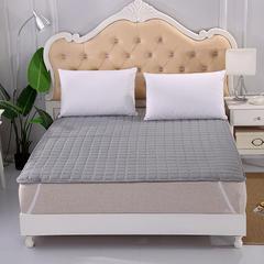 2019新款HXSD-1271 亲肤床褥床垫子四季款床褥子床垫席梦思保护垫 90*200cm 灰色