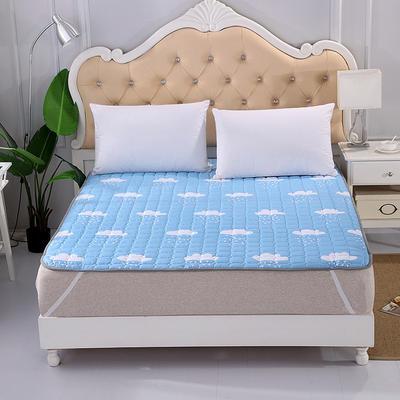 2019新款HXSD-1271 亲肤床褥床垫子四季款床褥子床垫席梦思保护垫 90*200cm 云朵飘飘