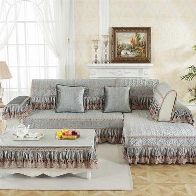 2018新款HXSD-5意大利绒秋冬保暖沙发垫 (终极版) 50*50cm(抱枕套) 意大利绒-灰色
