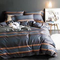 长绒棉印花四件套 2.0m(6.6英尺)床 凯特林