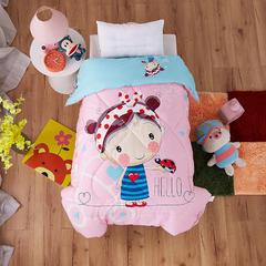 梵赫家纺    儿童全棉羽丝棉冬被 120x150cm 糖果女孩