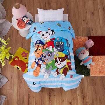 梵赫家纺    幼儿园儿童婴童全棉羽丝棉冬被 120x150cm 汪汪队