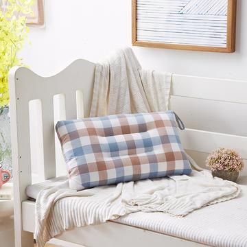 水洗棉全棉羽丝绒婴童儿童枕芯 30*50cm