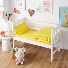 梵赫家纺    纯色系列幼儿园多件套 三件套不含芯 黄色