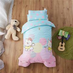 梵赫家纺    大版夹棉系列婴童用品幼儿园套件 单枕套30*50cm 棒球小子