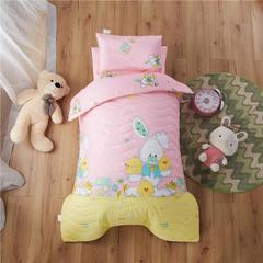 梵赫家纺    大版夹棉系列幼儿园套件 单枕套30*50cm 夺宝精灵-红