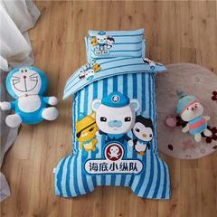 梵赫家纺    大版夹棉系列婴童用品幼儿园套件 单床垫套60*120cm 海底小纵队
