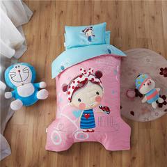 梵赫家纺    大版夹棉系列幼儿园套件 单枕套30*50cm 糖果女孩