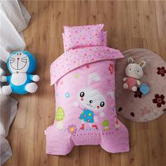 梵赫家纺    大版夹棉系列婴童用品幼儿园套件 三件套不含芯 兔宝贝