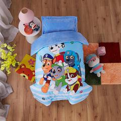 梵赫家纺    水晶绒系列幼儿园套件 单被套120*150cm 汪汪队