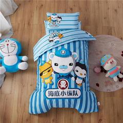 梵赫家纺    大版系列婴童用品幼儿园套件 单床垫套60*120cm 海底小纵队