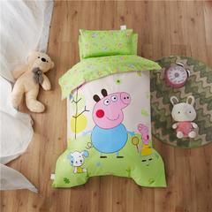 梵赫家纺    大版系列婴童用品幼儿园套件 丝绵款六件套 小猪佩奇