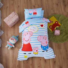 梵赫家纺    大版系列幼儿园套件 三件套不含芯 我爱小猪