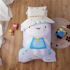 梵赫家纺    大版系列婴童幼儿园套件 三件套不含芯 可爱兔