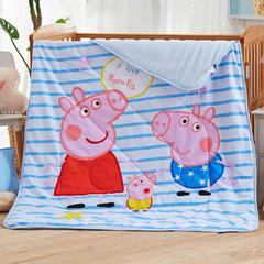 梵赫家纺   婴童用品系列幼儿园套件儿童 竹纤维夏被 120*150cm 我爱小猪