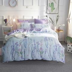 天裕家居北欧风六件套 2米床单款六件套 紫衫画意