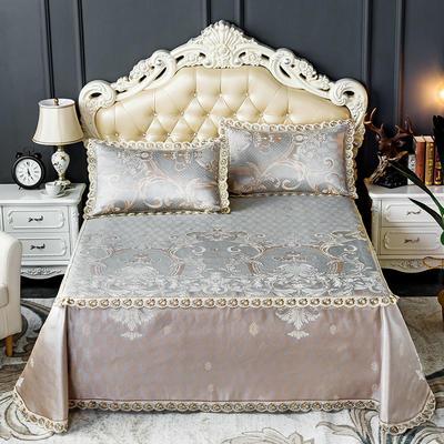 床笠式床单冰丝凉席(3件套) 150*200/230*240 罗卡娜