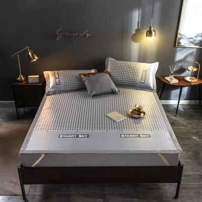 2020新款轻奢提花床席 1.5m(5英尺)床 千鸟格-咖色
