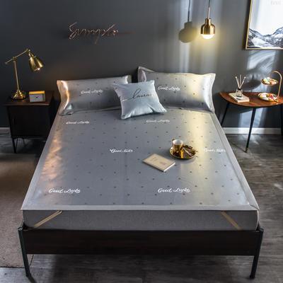2020新款轻奢提花床席 1.5m(5英尺)床 幸运草-咖色
