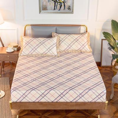 2020新款床包式提花冰丝席 1.5m(5英尺)床 巴黎故事