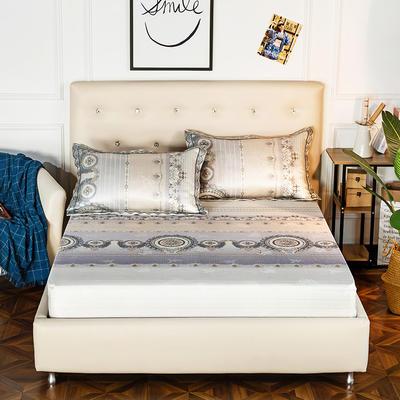 2020新款床包式提花冰丝席 1.8m(6英尺)床 简韵