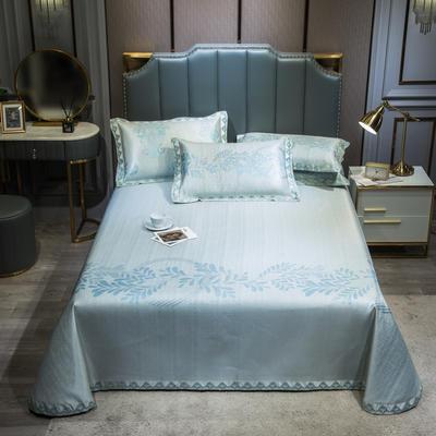 2020新款轻奢床单款冰丝席 1.8m(6英尺)床 简尚-米绿