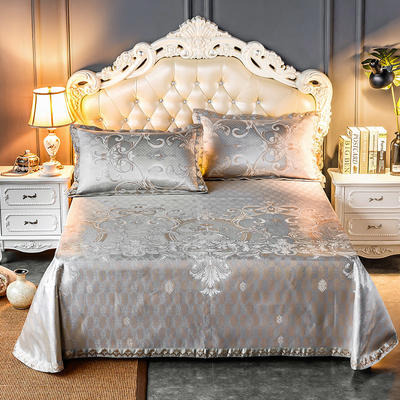 2020新款轻奢床单款冰丝席 1.8m(6英尺)床 罗卡娜-金