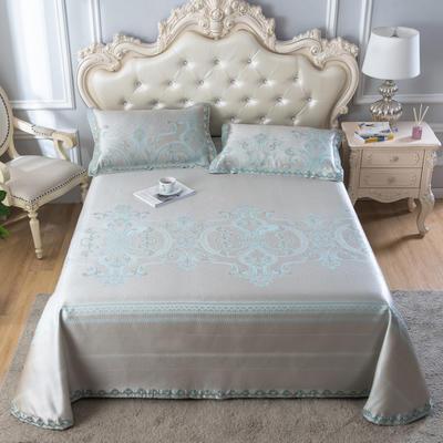 2020新款轻奢床单款冰丝席 1.8m(6英尺)床 米娜-香槟