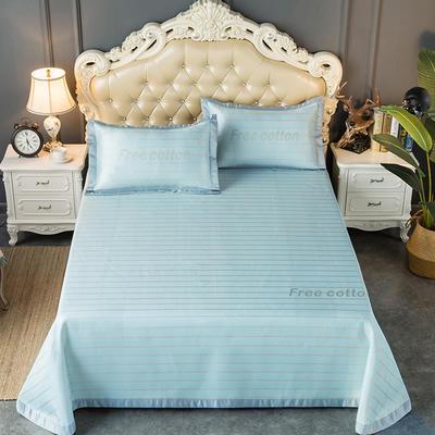 2020新款轻奢床单款冰丝席 1.8m(6英尺)床 威尔斯-米蓝