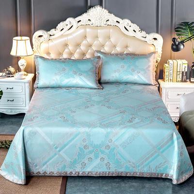 2020新款轻奢床单款冰丝席 1.8m(6英尺)床 雅阁风尚