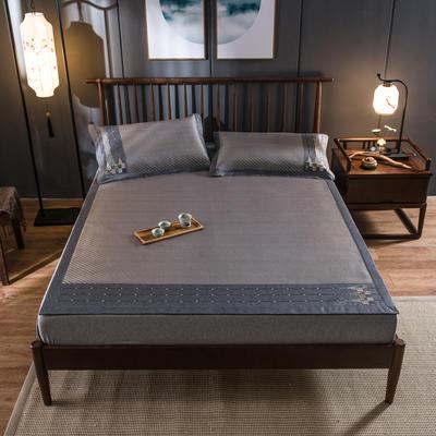 2020新款冰藤席 1.5m(5英尺)床 浪漫之旅-灰咖
