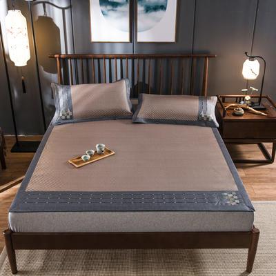 2020新款冰藤席 1.5m(5英尺)床 浪漫之旅-中咖