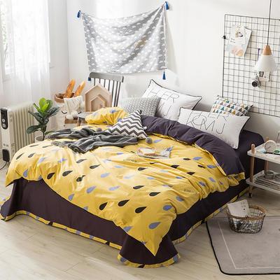 北欧ABC花边三版13372四件套 1.5m(5英尺)床 太阳雨