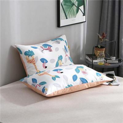 2020新品全棉单品枕套 48cmX74cm/对 动物之森