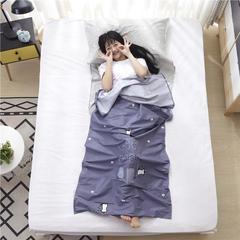 澳都 旅行纯棉隔脏睡袋床单便携成人旅游宾馆酒店隔脏卫生睡袋双人室内180*230cm 小松鼠